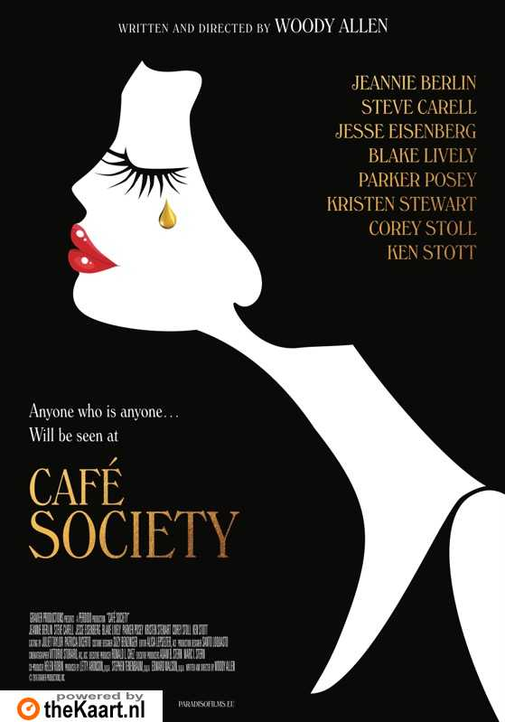 Caf� Society poster, � 2016 Paradiso