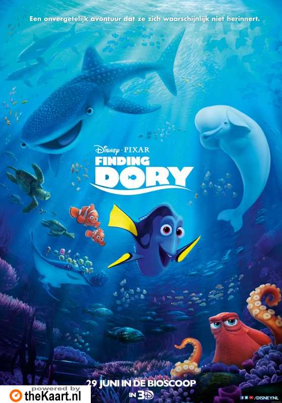 Finding Dory poster, � 2016 Walt Disney Pictures