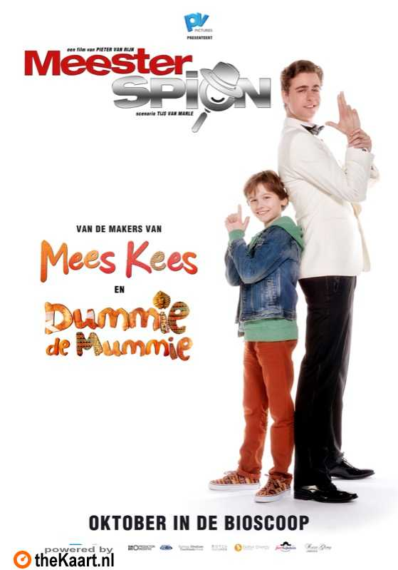 MeesterSpion poster, � 2016 Entertainment One Benelux