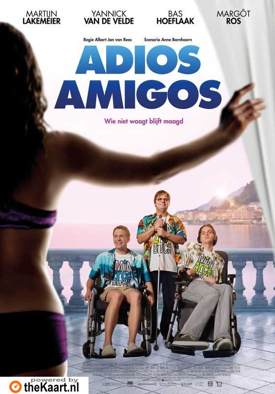 Adios Amigos poster, � 2016 Dutch FilmWorks