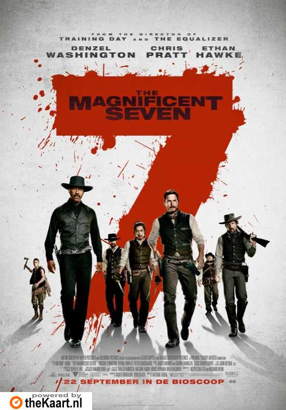 The Magnificent Seven poster, � 2016 Universal Pictures International