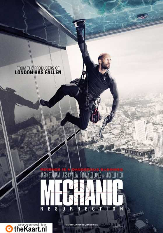 Mechanic: Resurrection poster, � 2016 Dutch FilmWorks