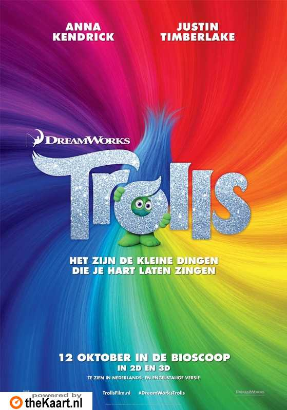 Trolls poster, � 2016 20th Century Fox