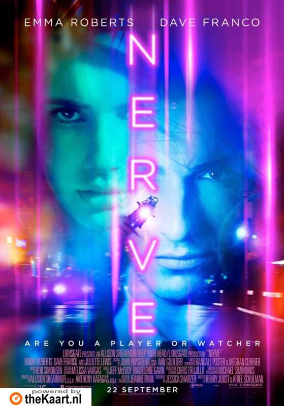 Nerve poster, � 2016 Independent Films