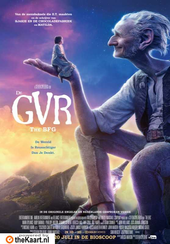 The BFG poster, � 2016 Entertainment One Benelux