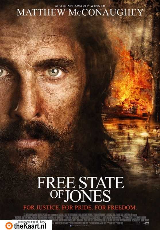 The Free State of Jones poster, � 2016 Entertainment One Benelux