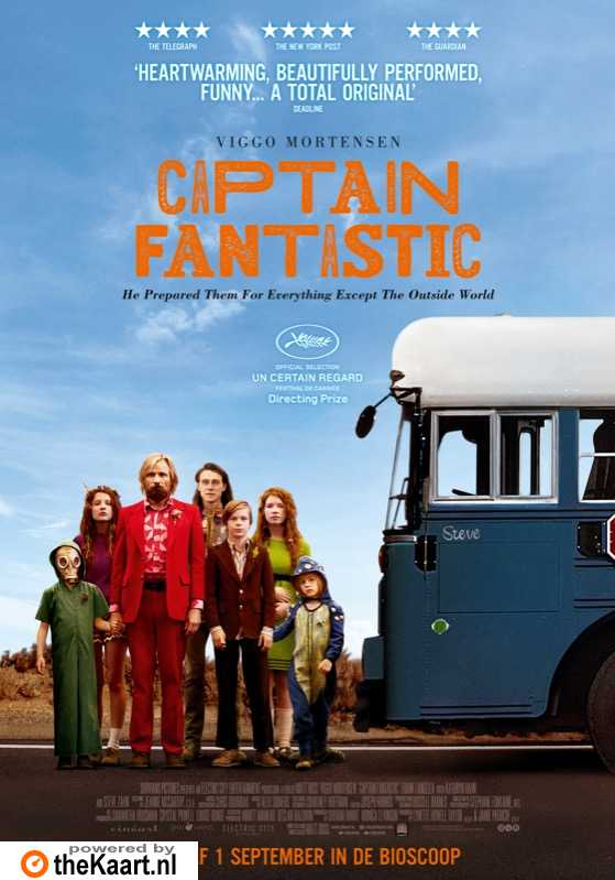 Captain Fantastic poster, � 2015 Cin�art