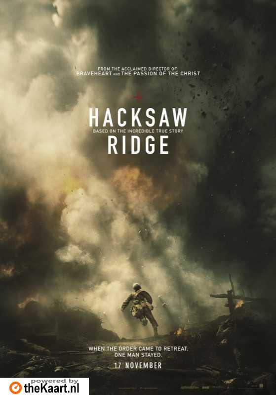 Hacksaw Ridge poster, © 2016 Splendid Film