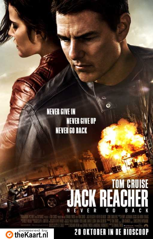 Jack Reacher: Never Go Back poster, � 2016 Universal Pictures International
