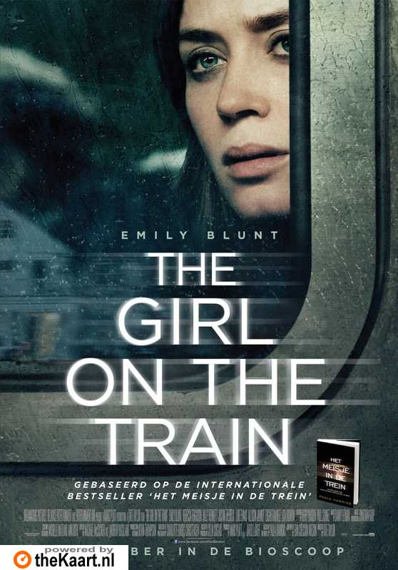 The Girl on the Train poster, � 2016 Entertainment One Benelux