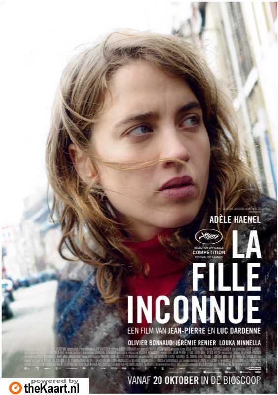 La fille inconnue poster, © 2016 Cinéart