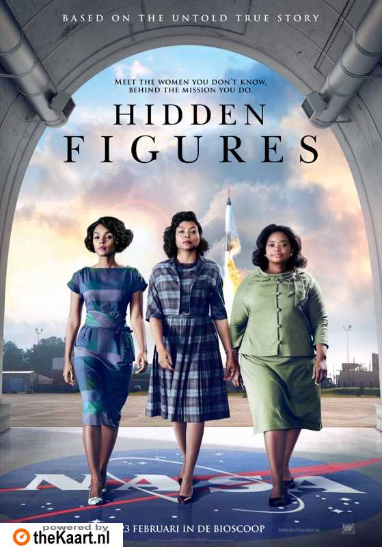 Hidden Figures poster, © 2017 20th Century Fox