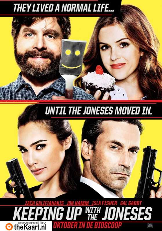 Keeping Up with the Joneses poster, � 2016 20th Century Fox