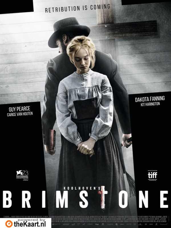 Brimstone poster, © 2016 Paradiso