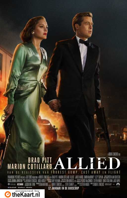 Allied poster, © 2016 Universal Pictures International