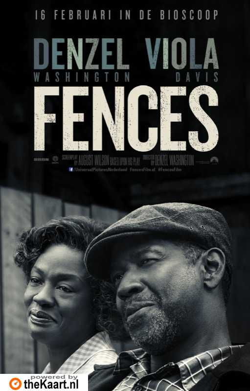 Fences poster, © 2016 Universal Pictures International