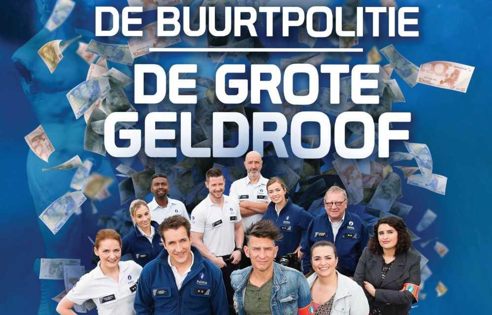 De Buurtpolitie: De Grote Geldroof poster, copyright in handen van productiestudio en/of distributeur