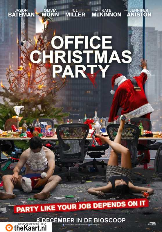 Office Christmas Party poster, © 2016 Entertainment One Benelux
