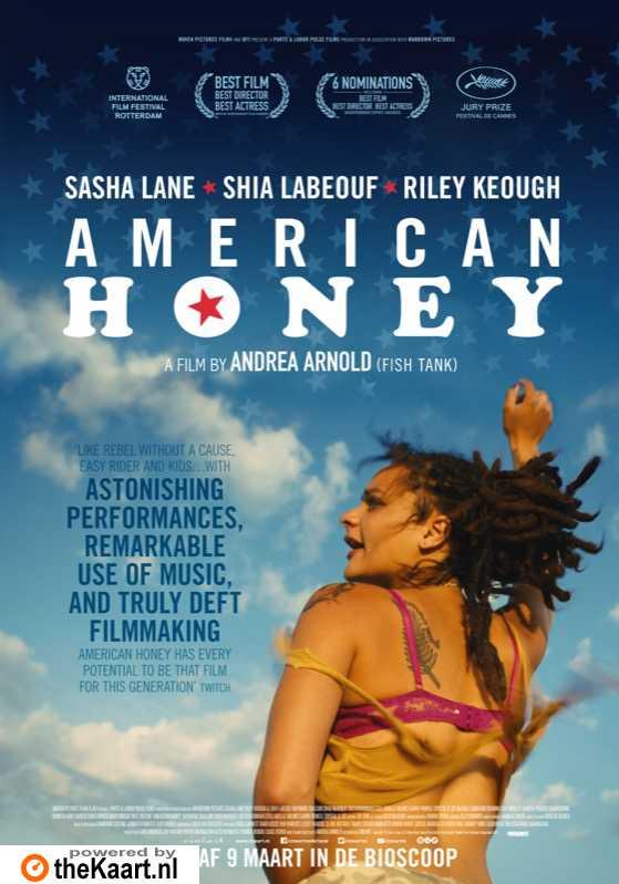 American Honey poster, © 2016 Cinéart