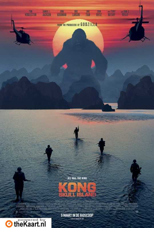 Kong: Skull Island poster, © 2017 Warner Bros.