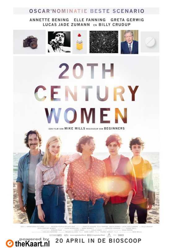 20th Century Women poster, © 2016 September