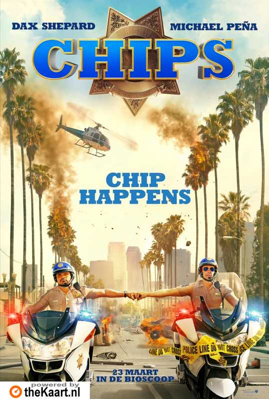 CHiPs poster, © 2017 Warner Bros.