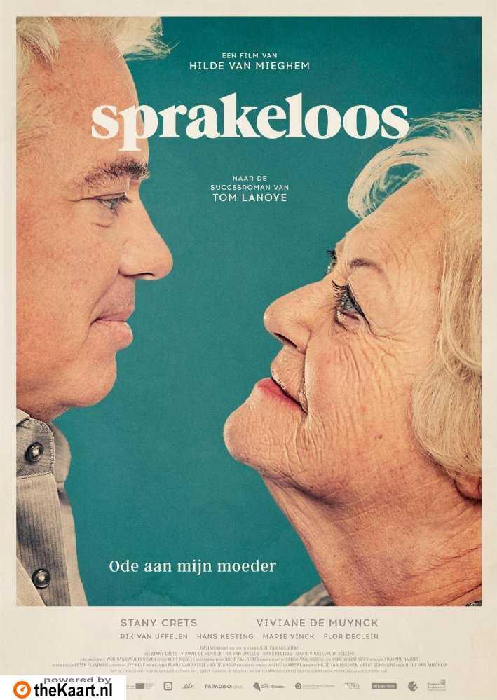 Sprakeloos poster, © 2017 Paradiso
