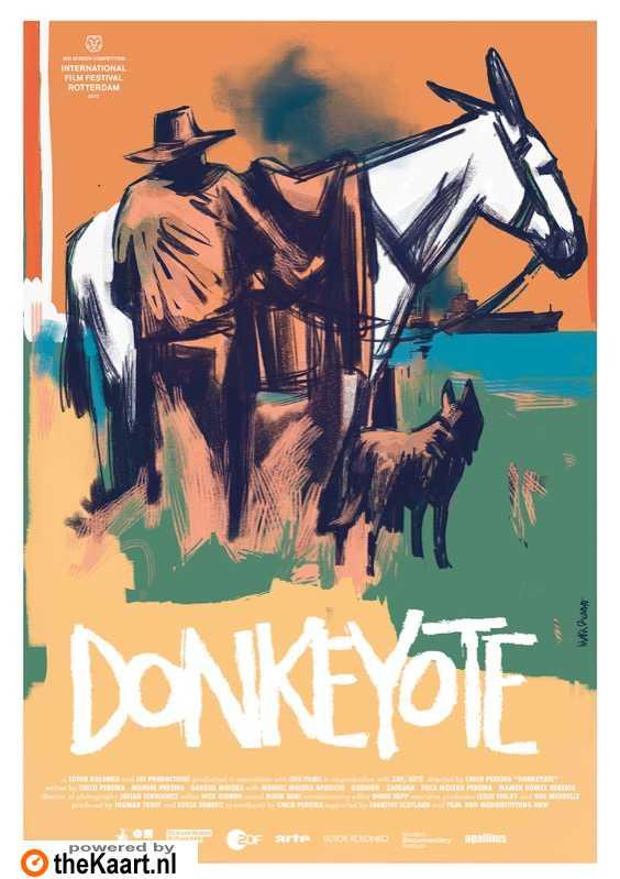 Donkeyote poster, © 2017 Amstelfilm
