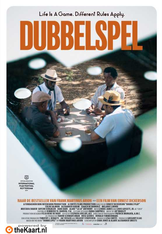 Double Play poster, © 2017 Paradiso