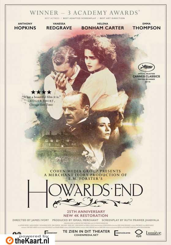 Howards End poster, © 1992 Eye Film Instituut