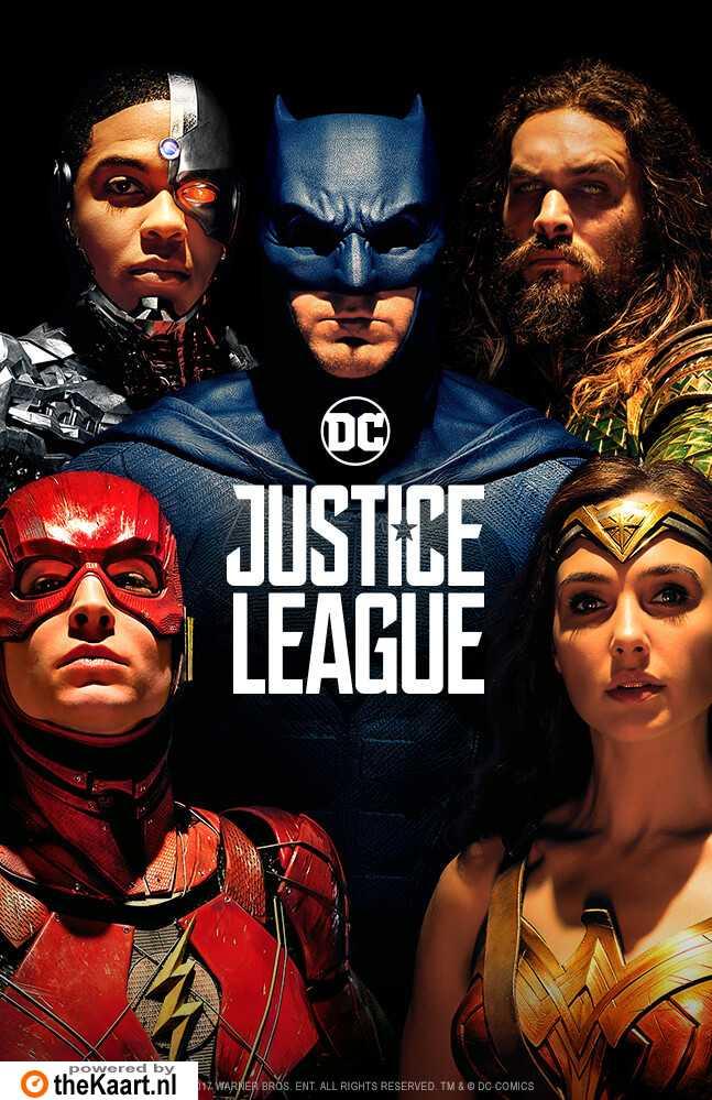Justice League poster, © 2017 Warner Bros.