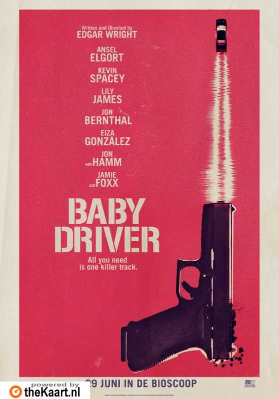 Baby Driver poster, © 2017 Universal Pictures International