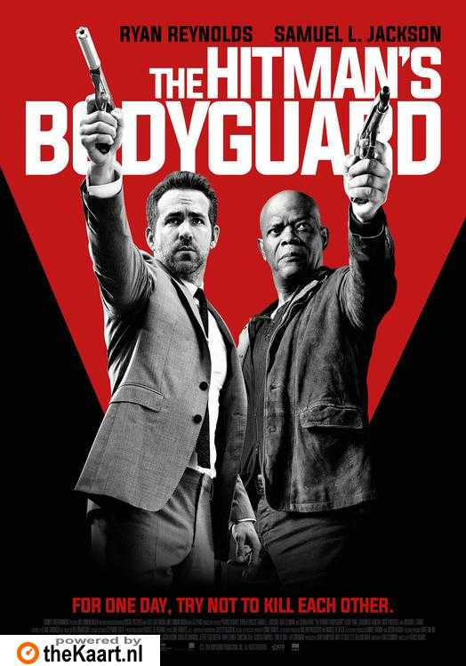 The Hitman's Bodyguard poster, © 2016 Dutch FilmWorks