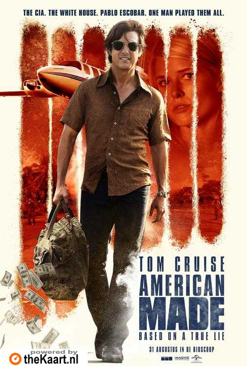 American Made poster, © 2017 Universal Pictures International