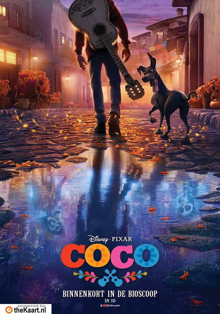 Coco poster, © 2017 Walt Disney Pictures
