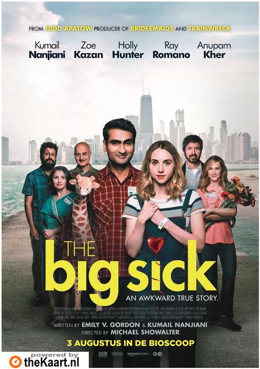 The Big Sick poster, © 2017 The Searchers