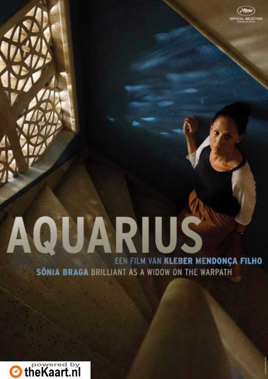 Aquarius poster, © 2016 Contact Film