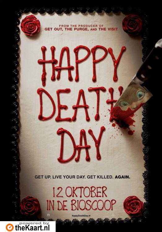 Happy Death Day poster, © 2017 Universal Pictures International