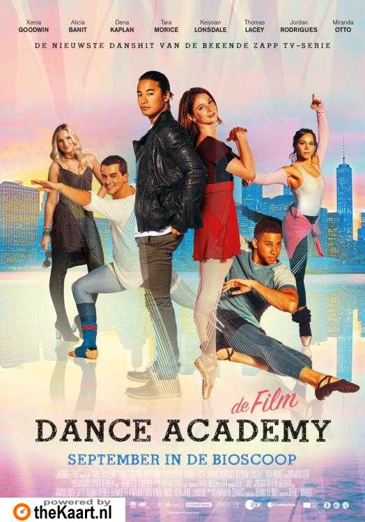 Dance Academy: The Movie poster, © 2017 Just Film Distribution