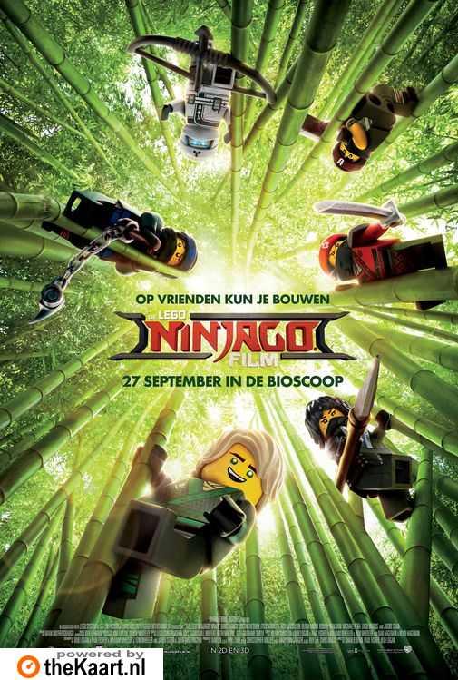 The LEGO NINJAGO Movie poster, © 2017 Warner Bros.