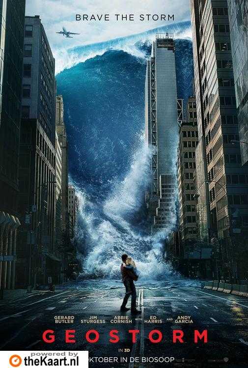 Geostorm poster, © 2016 Warner Bros.