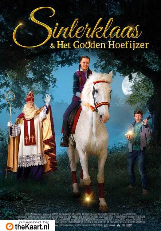 Sinterklaas & Het Gouden Hoefijzer poster, © 2017 Dutch FilmWorks