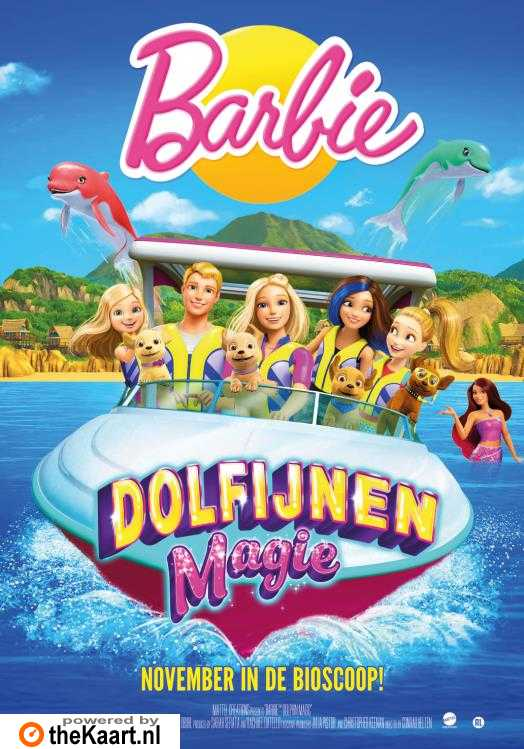 Barbie: Dolphin Magic poster, © 2017 Just Film Distribution