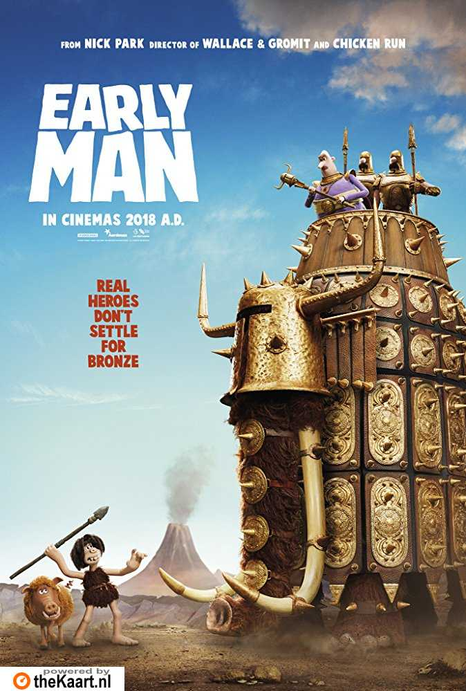 Early Man poster, © 2018 Entertainment One Benelux