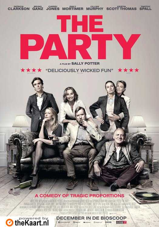 The Party poster, © 2017 Cinéart