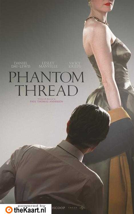 Phantom Thread poster, © 2017 Universal Pictures International