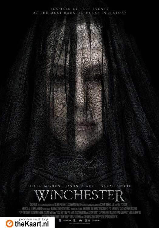 Winchester: The House That Ghosts Built poster, © 2018 Dutch FilmWorks