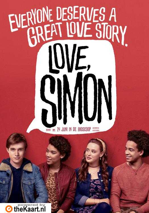 Love, Simon poster, © 2018 20th Century Fox
