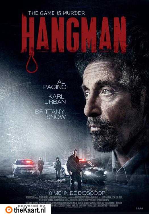 Hangman poster, copyright in handen van productiestudio en/of distributeur
