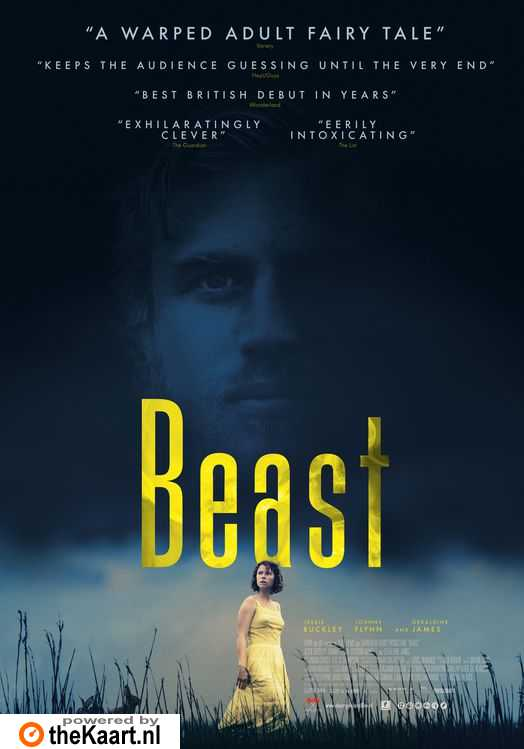 Beast poster, copyright in handen van productiestudio en/of distributeur